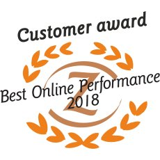 MultiGift wins Customer Award Best Online Performance 2018
