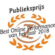 MultiGift wint Publieksprijs Best Online Performance Award 2018