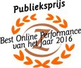 MultiGift wint Publieksprijs Best online performance award 2016