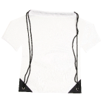 Nylon backpack T-shirt white 201321