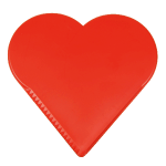 Ice scraper Heart red 840007