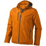 Veste doublée polaire Smithers orange 39313
