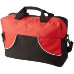 Chicago conference bag black solid/red 119053