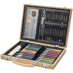 Rainbow 67-piece colouring set 106072