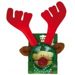 Reindeer Headband with flash nose 4004