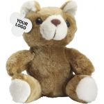 Teddy bear in a plush material 5012