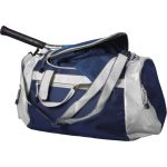 Polyester (600D) sports/travel bag blue 5675