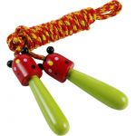 Skipping rope light green 8089