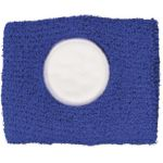 Cotton sweat band blue 9078