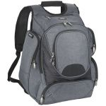 """Proton airport security friendly 17"""" backpack grijs 119544"""