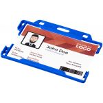 Vega plastic card holder blauw 210602