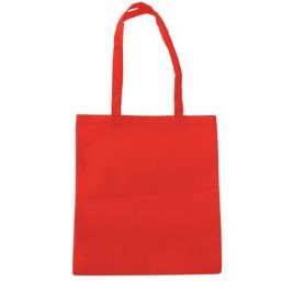 Shopper with long handles red 9675