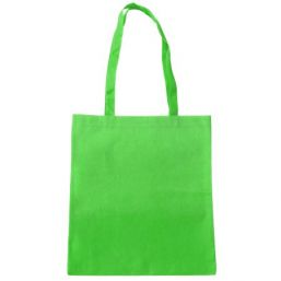 Shopper with long handles green 9675
