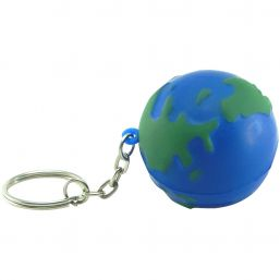 Globe keyring anti stress 9809