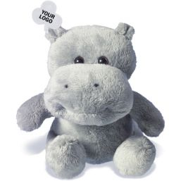 Soft toy hippo 8084