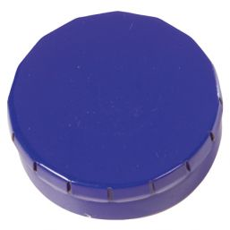 Round Click Tin with approx. 12gr. mints blue 501120