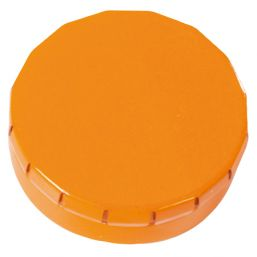 Round Click Tin with approx. 12gr. mints orange 501120