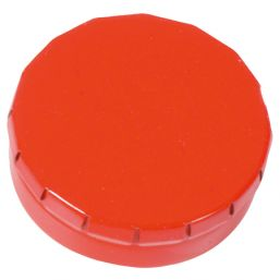 Round Click Tin with approx. 12gr. mints red 501120