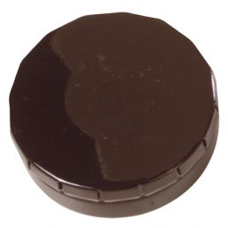 Round Click Tin with approx. 12gr. mints black 501120