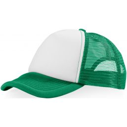 Trucker 5 panel cap groen/wit 111069