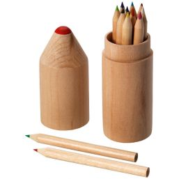 Woody 12-piece coloured pencil set 106021