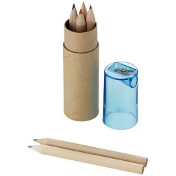 Kram 7-piece coloured pencil set blauw 106220