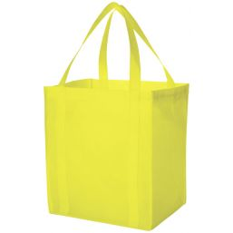 Liberty grocery Tote lime 119413