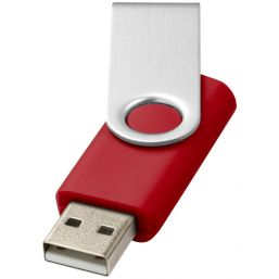 Rotate basic USB 4GB rood/zilver 123505
