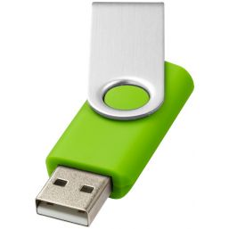 Rotate basic USB 4GB lime/silver 123505
