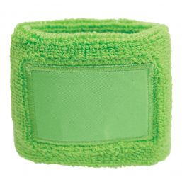 Towel Wristband with Label light green 1520