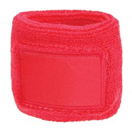 Towel Wristband with Label pink 1520