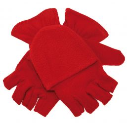 Half Finger Gloves red 1865