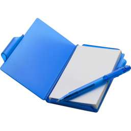 Notebook with pen blue 2736