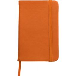 Soft feel notebook (approx. A6) orange 2889