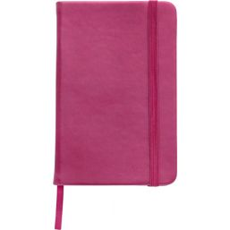 Soft feel notebook (approx. A6) pink 2889