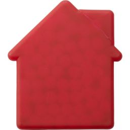 House shaped mint card red 6671