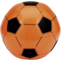 Inflatable football orange 9655