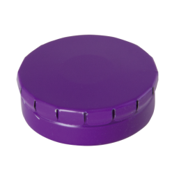 Round Click Tin with approx. 12gr. mints purple 501120