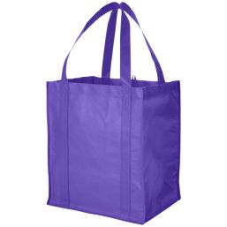 Liberty grocery Tote purple 119413