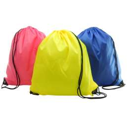 Impression image of Polyester drawstring backpack