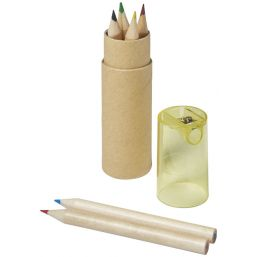 Kram 7-piece coloured pencil set yellow 106220