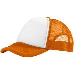 Trucker 5 panel cap oranje 111069