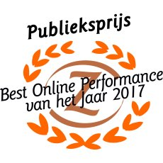 MultiGift wint Publieksprijs Best Online Performance Award 2017